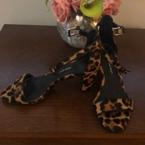 Calf hair Nine West Sandals